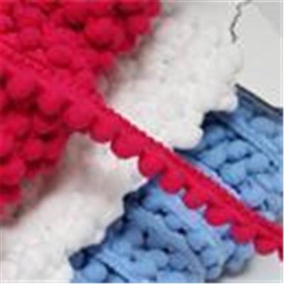 Pompon-/Fransenbänder