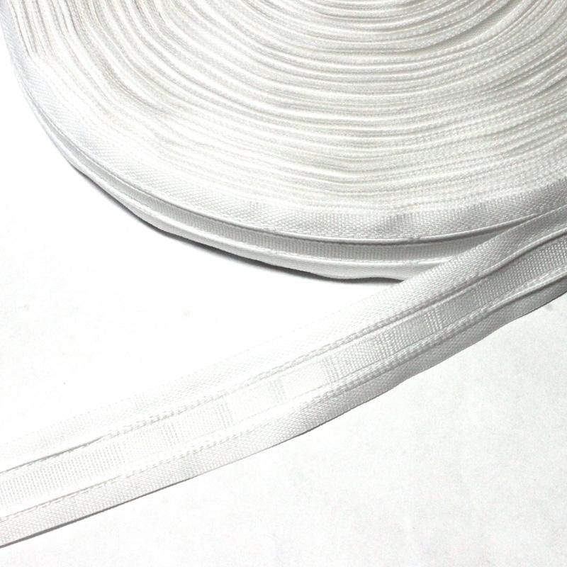 gardinenband 3 falten 25 mm breit wei 0 70 pepel. Black Bedroom Furniture Sets. Home Design Ideas