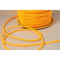 Hutgummiband 3mm gelb-orange