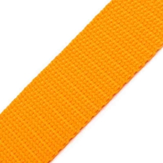 Gurtband - 30 mm - gelb/orange