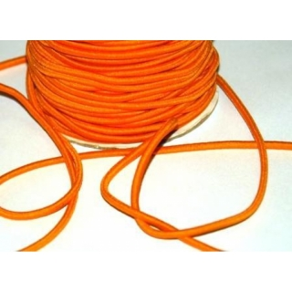 Hutgummiband 3mm orange
