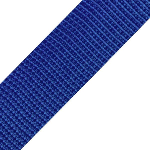 Gurtband - 30 mm - royalblau