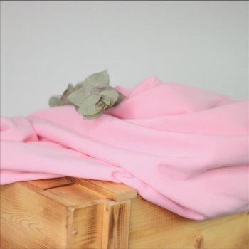 French Terry - brushed Sweat - rosa