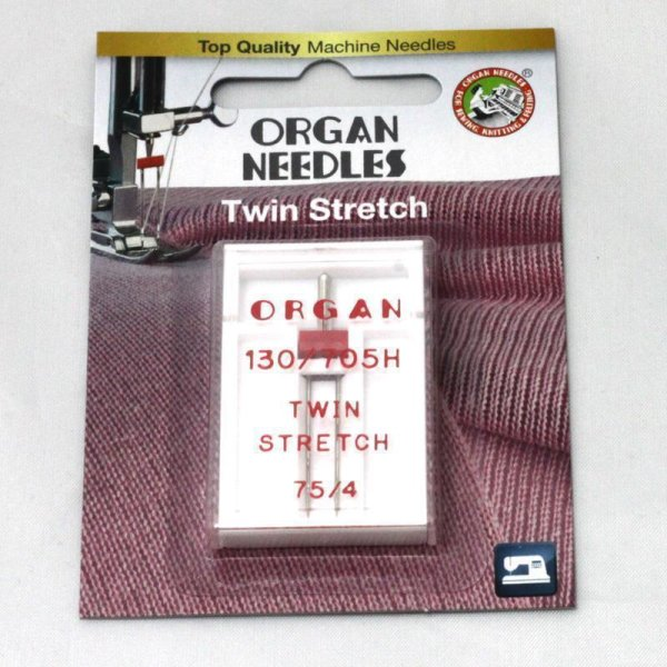 Nähmaschinennadeln - Organ - Twin Stretch (1 er Set)