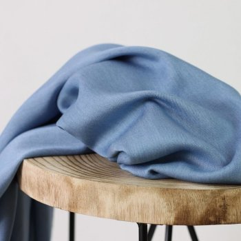 Viskose-Chambray - bleached blue