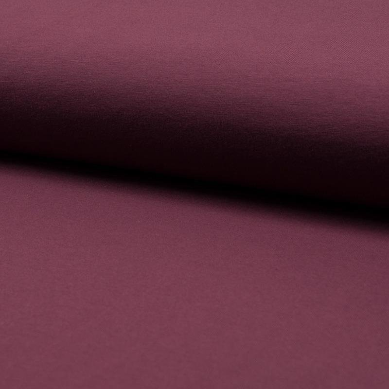 French Terry - brushed Sweat - bordeaux