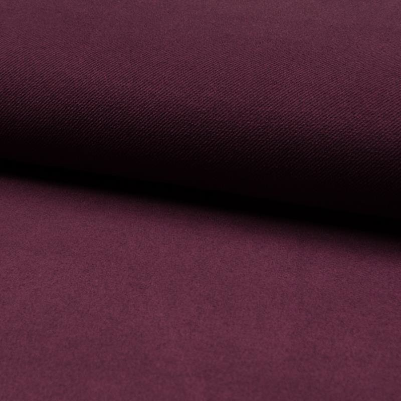 Suede Twill - pflaume/bordeaux