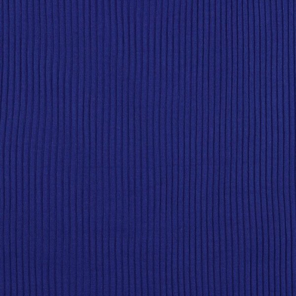 Heavy-Rib - Bündchen - royal blau   (1VE = 10 cm)