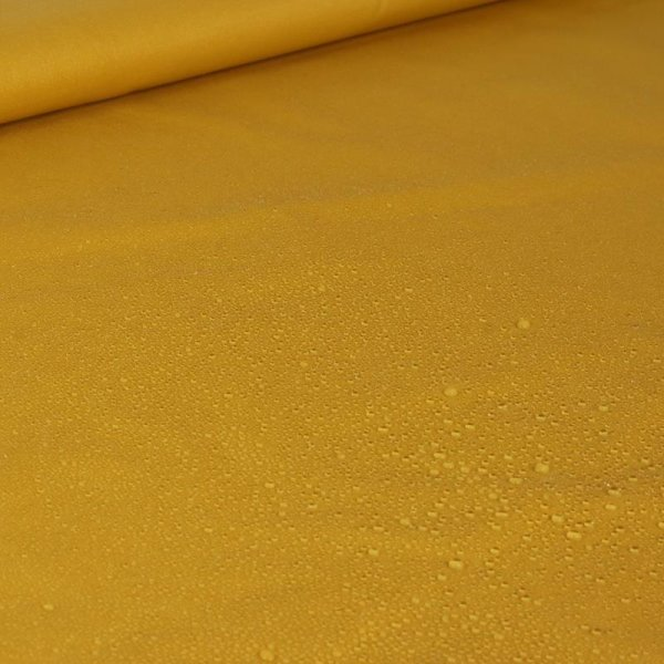 Jackenstoff water repellent - ocre