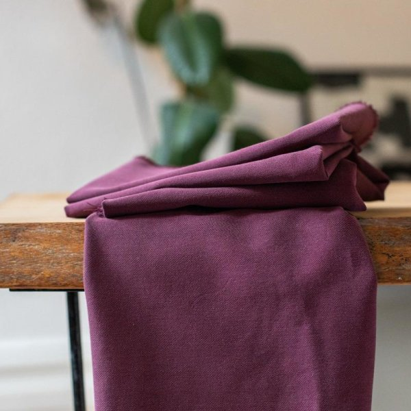 meetMilk - Tencel Soft Stretch Twill - Maroon