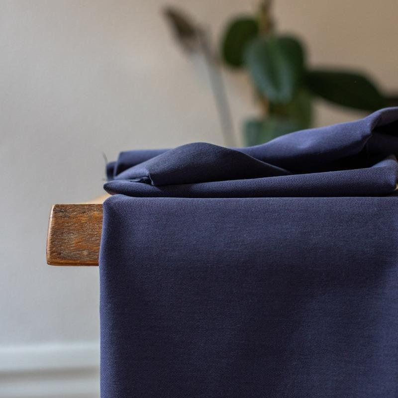 meetMilk - Tencel Soft Stretch Twill - Blueberry