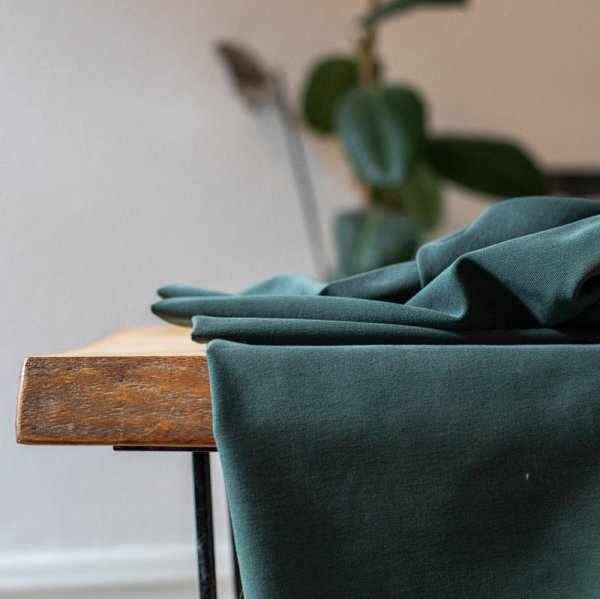 meetMilk - Tencel Soft Stretch Twill - Deep Green