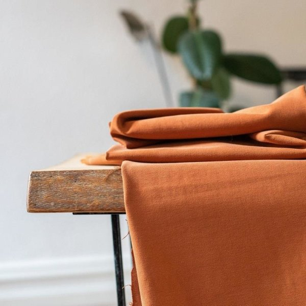 meetMilk - Tencel Soft Stretch Twill - Rust