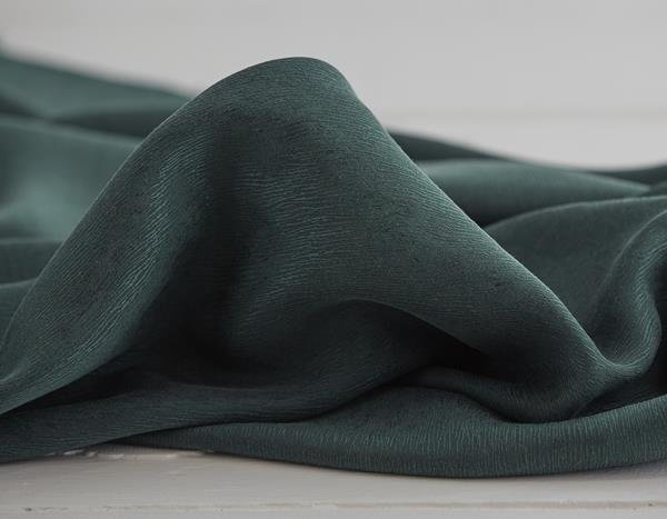 meetMilk - Cupro/Tencel Bark Crepe - Deep Green