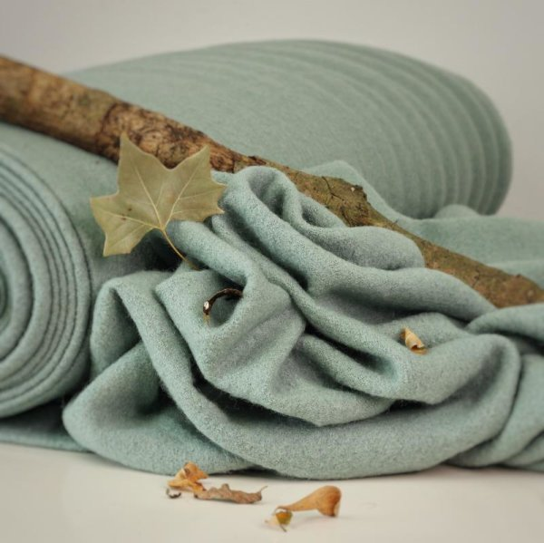Walk - Wool Boiled - dusty mint