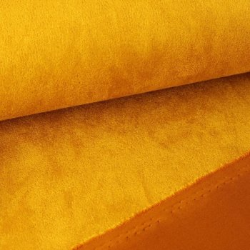 Scuba Suede Stretch Washable - ocre