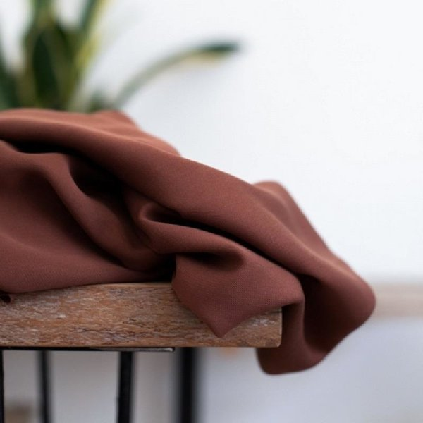 meetMilk - Smooth Drape Twill - Pecan